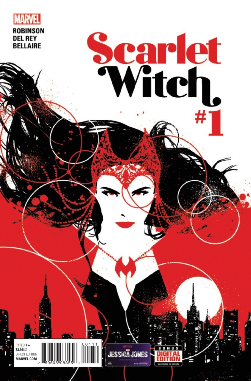 Scarlet Witch #1 (обложка с сайта Geekster.ru)