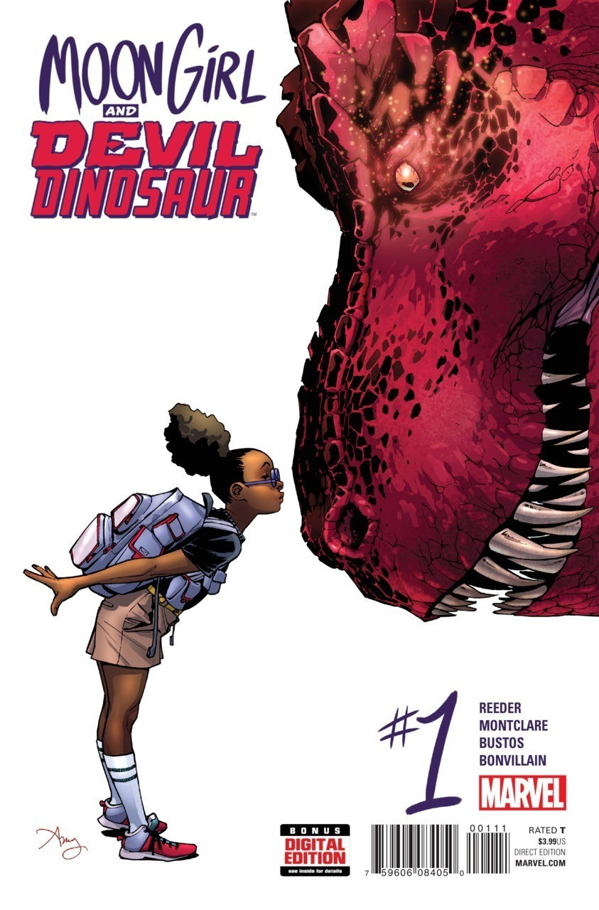 Moon Girl And Devil Dinosaur 1 (обложка с сайта Geekster.ru)